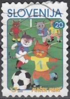 Slovenija 2000 Michel 291 O Cote (2006) 0.50 Euro Chat Muri De Kajetan Kovic - Slovénie