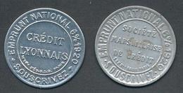CX-255: FRANCE: Lot Avec N° 137 2 Portes Monnaie (crédit Lyonnais Et Soc Marseillaise De Crédit) - 1906-38 Sower - Cameo