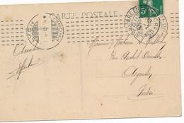 CX-256: FRANCE: Lot Avec N° 137 Avec Obl CHAMBON (1913) - 1906-38 Semeuse Camée
