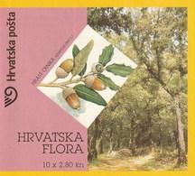CROATIA - CROATIAN FLORA - OAK TREES - 3 BOOKLET - Croacia
