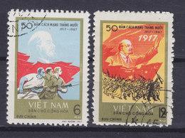 Vietnam 1967 Mi. 491-92 Oktoberrevolution Wladimir I. Lenin - Vietnam