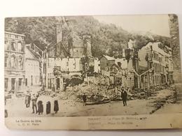 CPA DINANT LA GUERRE 1914 LA PLACE SAINT NICOLAS - Dinant