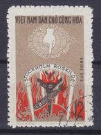 Vietnam 1969 Mi. 594    12 Xu Einberufung Internationalen Gerichthofes Im Stockholm Und Roskilde Durch Bertrand Russell - Vietnam