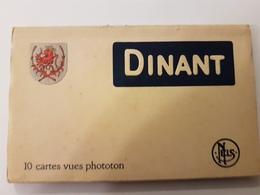 CPA DINANT 10 CARTES VUES PHOTOTON  EDIT THILL A DEPLIER - Dinant