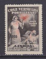 Portugal Cruz Vermelha RED CROSS 1935 MH - 1910-... Republiek