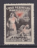 Portugal Franchise For Red Cross, Mint Hinged Overprinted 1935 - Neufs