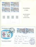 Journée Du Timbre 2006. Timbre Scott Stamp # 998; Premier Jour + Bloc De Coin Daté. FRAIS De POSTE (6983) - Neukaledonien
