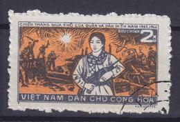 Vietnam 1971 Mi. 647    2 Xu Sieg Der Südvietnamesischen Befreiungsfront Bewaffnete Frau Der Miliz - Vietnam