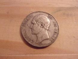BELGIQUE LEOPOLD I  5 FRANCS  1849 ARGENT - 11. 5 Francs