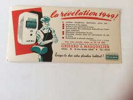 Vloeipapier - Buvard La Révélation 1949 ! Grisard & Masquelier Liege - Autres