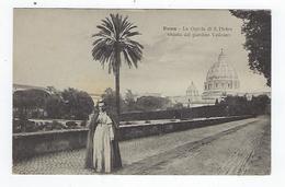 CPA - Roma - Vatican - Saint Pierre De Rome - La Cupola Di S. Pietro Veduta Dal Giardino Vaticano - Vatican