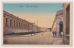 ARGENTINA JUJUY Calle San Martin Ed. Buttazzoni PC CPA - Argentine