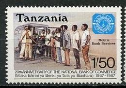 Tanzanie - Tansania - Tanzania 1987 Y&T N°305 - Michel N°382 *** - 1,50s Banque Du Commerce - Blokken & Velletjes