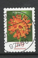 Duitsland, Mi 3491 Jaar 2019, Bloemen,  Hoge Waarde, Zelfklevend,  Prachtig Gestempeld - [7] République Fédérale