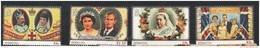 2013 Bermuda Royalty Coronations   Complete Set Of 5 & Souvenir Sheet  MNH - Bermuda