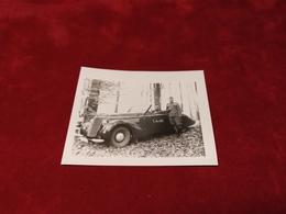 WWII Foto German Alte Auto 2 WK Photo - 1939-45