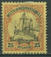 Deutsch-Südwestafrika 1901 Kaiseryacht Hohenzollern 15 Gestempelt - Kolonie: Deutsch-Südwestafrika