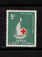 PAPUA  NEW  GUINEA    1963    Red  Cross  Centenary    MNH - Papua New Guinea