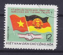 Vietnam 1975 Mi. 818    12 Xu Deutsche Democratische Republik Flag Flagge - Vietnam