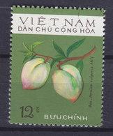 Vietnam 1975 Mi. 804    12 Xu Fruit Frücht Peach Persica Vulgaris Mill - Vietnam