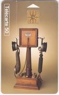 TC044 TÉLÉCARTE 50 - COLLECTION HISTORIQUE - TÉLÉPHONE DECKERT 1920 - N°17 - Télécartes