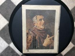 ESTAMPE  VEILLARD A LA TOQUE Attribue à Jan Wonterzstap  COMITÉ D'AIDE AUX GRANDS MALADES DES PTT - Prints & Engravings