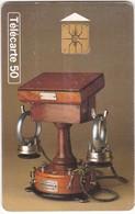 TC045 TÉLÉCARTE 50 - COLLECTION HISTORIQUE - TÉLÉPHONE ADER 1880 - N°5 - Télécartes