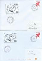 13084  7 Enveloppes - MALAMA HONUA - Cachets Commémoratifs Différents - POLYNÉSIE FRANÇAISE - Lettres & Documents