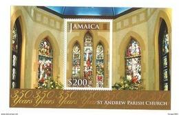 2014 Jamaica St. Andrews Church Souvenir Sheet MNH - Jamaica (1962-...)