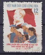 Vietnam 1971 Mi. 668    12 Xu Ho-Chi-Minh-Arbeiterjugend-Union - Vietnam