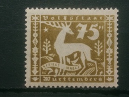 Altedeutschland Württemberg Mi-Nr.149** MNH Postfrisch Geprüft - Wuerttemberg