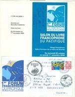 Alliance Champlain; Francophonie. Journée De La Francophonie. Premier Forum. FRAIS De POSTE (6988) - Briefe U. Dokumente