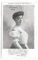 Femme Célèbre - ROSE FEART - Opéra - Collection Artistique Du VIN DESILES - Femmes Célèbres