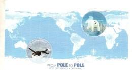 2012 Ross Dependency Pole To Pole Polar Bear And Penguins Set  Of 1 Sheet MNH - Ross Dependency (Nieuw-Zeeland)