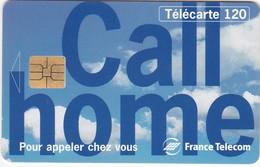 TC052 TÉLÉCARTE 50 - CALL HOME - POUR APPELER CHEZ VOUS - FRANCE TELECOM - Telecom Operators