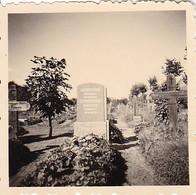 Foto Friedhof Grabsteine - Ca. 1940 - 5,5*5,5cm (43014) - Orte