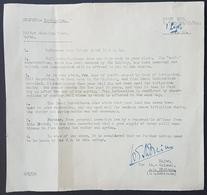 GE - Lebanon 1944 WWII Document Ixth British Army Occupying Lebanon - Investigation Document - Lebanon