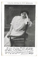 Femme Célèbre - L. BREVAL - Opéra - Collection Artistique Du VIN DESILES - Femmes Célèbres
