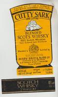 3 ETIQUETTES OENOPHILIE PUBLICITE VIN ALCOOL - Whisky VAT 69, CUTTY STARK, Apéritif VIN LORRAIN De M. SOULA Pharmaci - Whisky