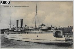 Sassnitz A.R. + Fährschiff Deutschland - Ferries