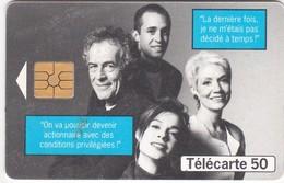 TC057 TÉLÉCARTE 50 - DEVENIR ACTIONNAIRE FRANCE TELECOM - OUVERTURE DE CAPITAL - AN 2000 - Telecom Operators
