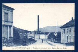 88. Senones. Rue De L' Abattoir Et Les Usines Larue - Senones