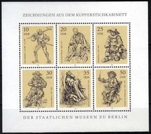 DDR MiNr. Klbg. 2347/52 ** Kupferstichkabinett Der Staatlichen Museen - [6] République Démocratique