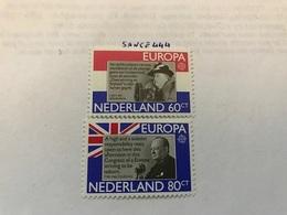 Netherlands Europa 1980  Mnh  #ab - Europa-CEPT