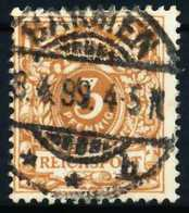 D-REICH K A Nr 45c Zentrisch Gestempelt X68AD5A - Duitsland