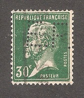 "Perforé/perfin/lochung France No 174 E.F. L""Exportateur Français - Perforés"