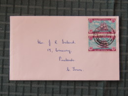 South Africa 1962 Cover Local To East London - Ships - Libretti