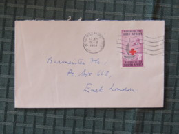 South Africa 1964 Cover King Williams To East London - Nurse - Red Cross - Libretti