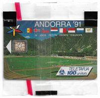 Andorra - STA - Games Of Small States - 05.1991, SC6, 100Units, 20.000ex, NSB - Andorra