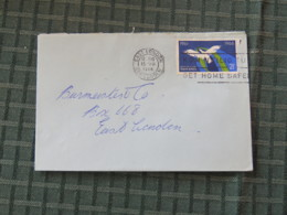 South Africa 1966 Cover East London To East London - Flying Bird - Libretti
